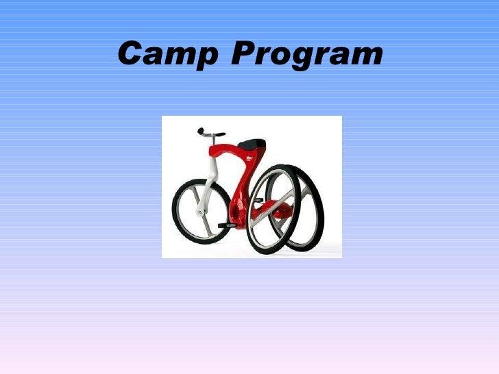 Camp Program