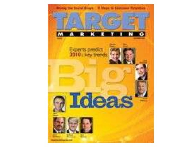 Jerry Bernhart on the covers of Target Marketing and DM News