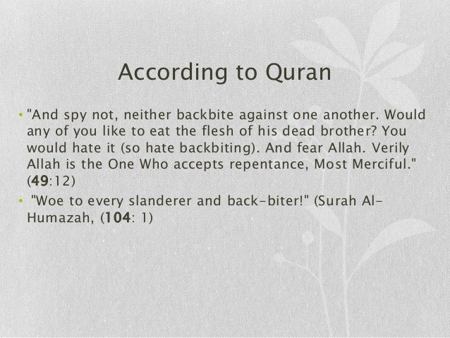 Backbiting In Islam Essay Prompts - image 9