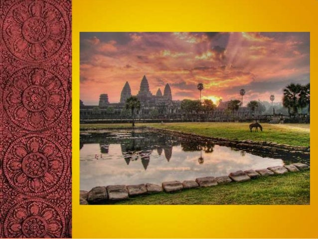 CAMBODIA We have a more imposing early history andtragic present. Population was assessed at 13.8 million in2003. It's G...