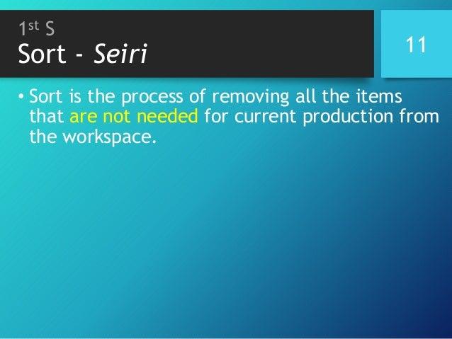Presentation 5 S workplace organization methodology Slide 10