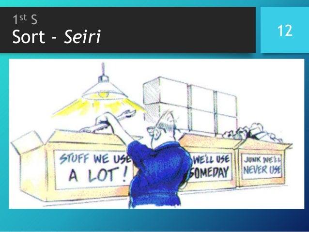 1st S Sort - Seiri 12