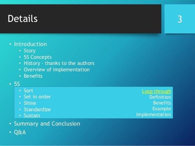 Presentation 5 S workplace organization methodology Slide 3