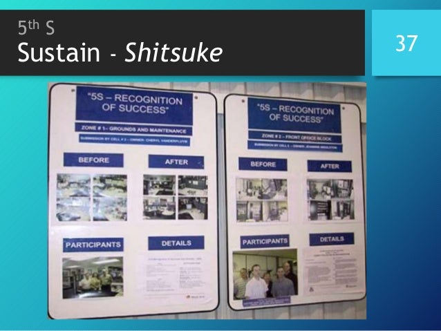 5th S Sustain - Shitsuke 37