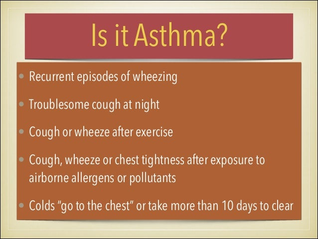 Asthma Management and Prevention Program Component 2: Identify and Reduce Exposure to Risk Factors ▪Measures to prevent th...
