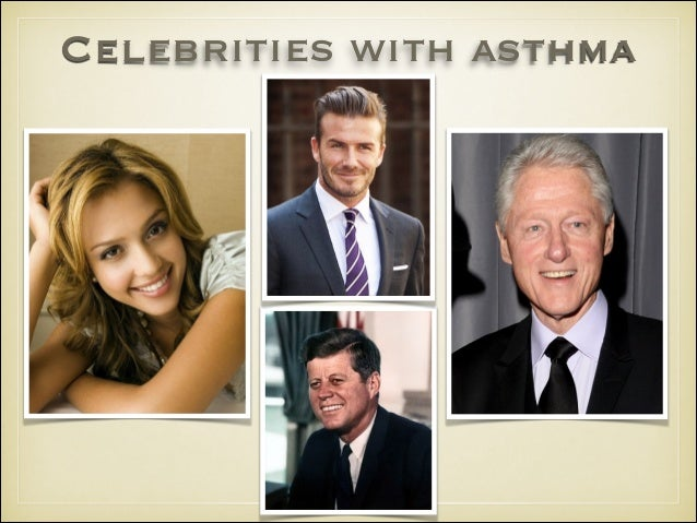 10 famous people living with asthma | Health24
