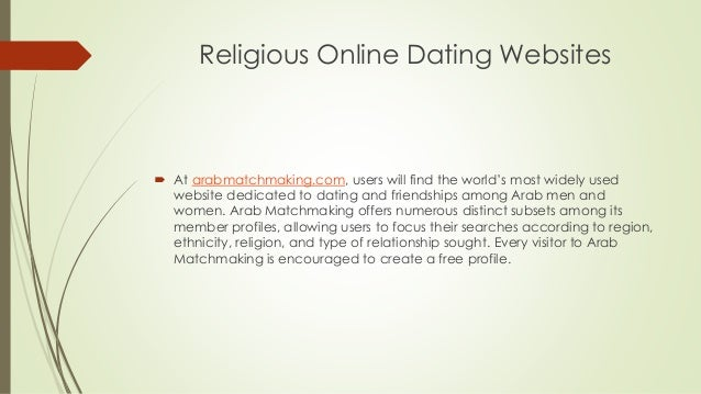 Religious dating website