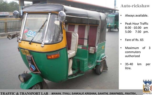 Auto-rickshaw                                                                           •   Always available.             ...