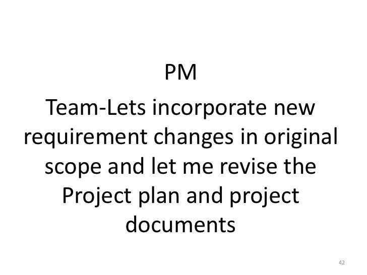Project Tracking and Scope Management