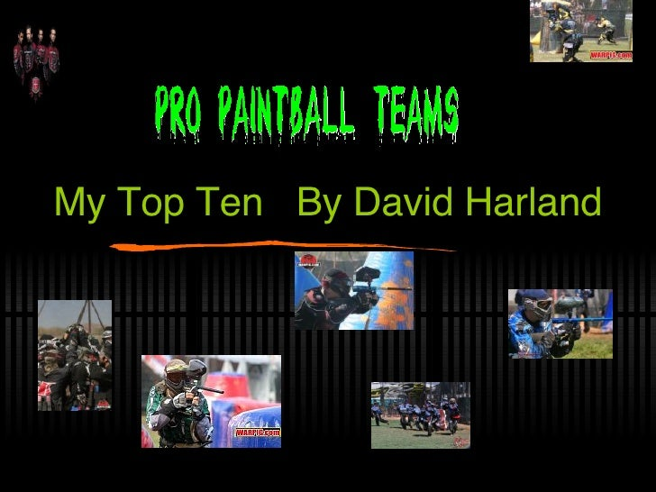 My Top Ten  By David Harland