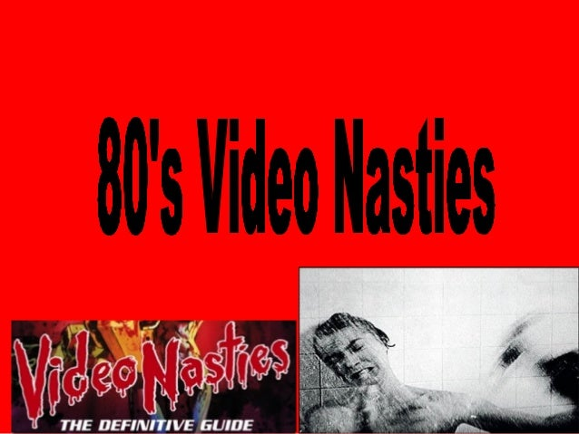 • Video nasties was a term used to describe a number of films distributed on video cassettes that were criticized for ther...