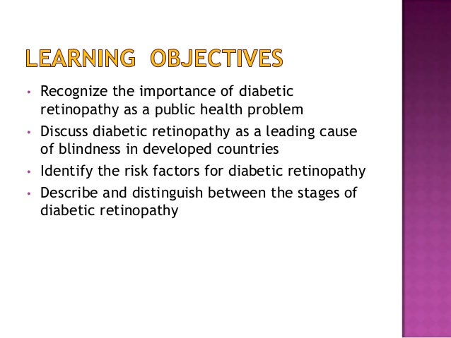 diabetic retinopathy Slide 2