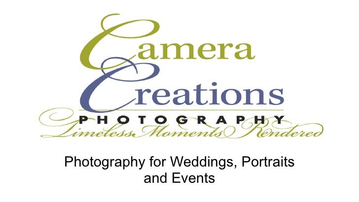 Photography for Weddings, Portraits and Events