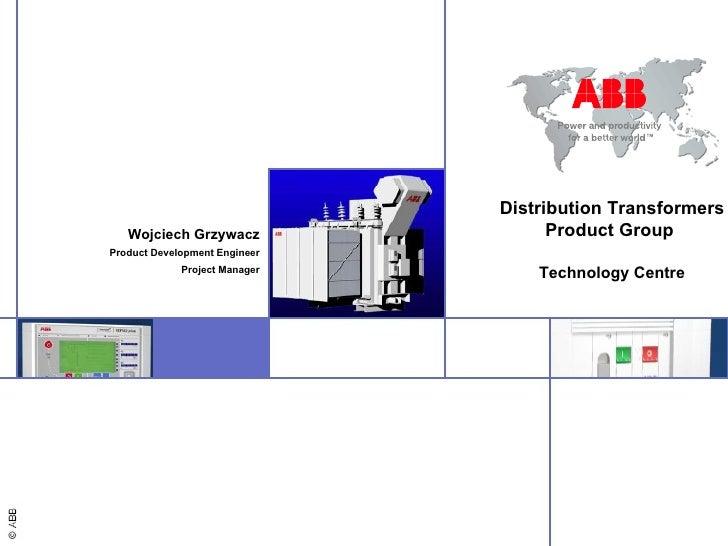 Presentation Abb Carrer