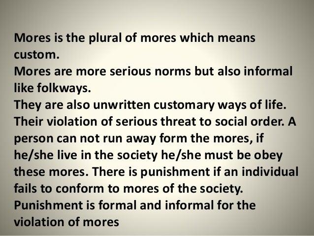 norm violation essays