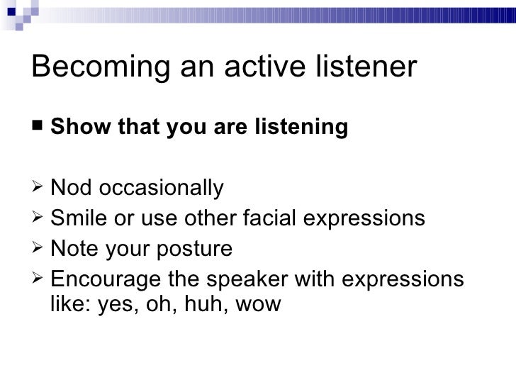 Image result for words to show active listening