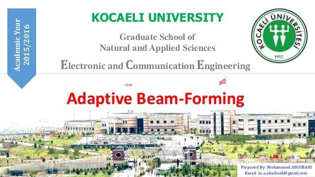 Adaptive Beamforming Algorithms