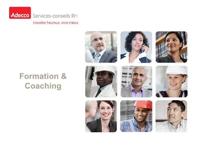 Formation & Coaching
