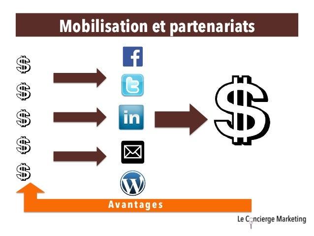 Avantages Mobilisation et partenariats