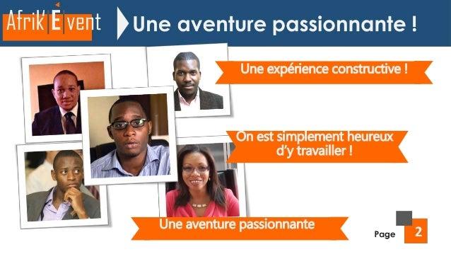 Présentation AFRIK'EVENT - #Edition10 Slide 3