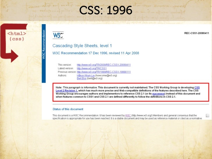 CSS: Usage of the time              http://www.flickr.com/photos/peregrinari/2050430721/
