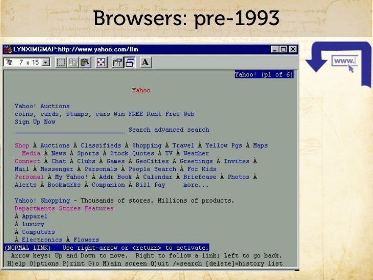 Browsers: 1993