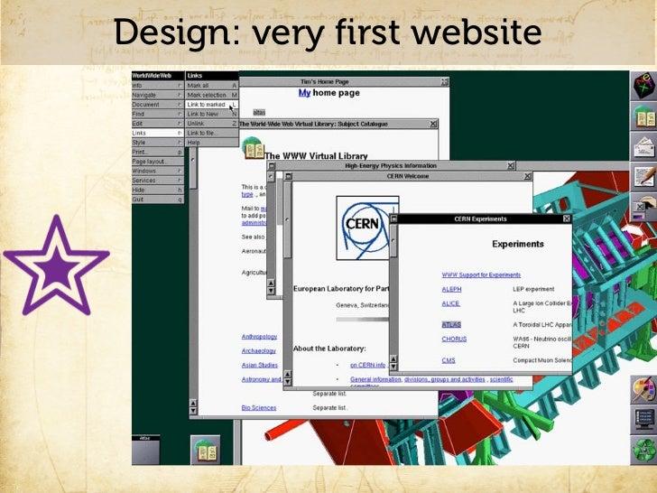 Web Design: circa 1996       http://csszengarden.com/?cssfile=http://www.brucelawson.co.uk/zen/sample.css