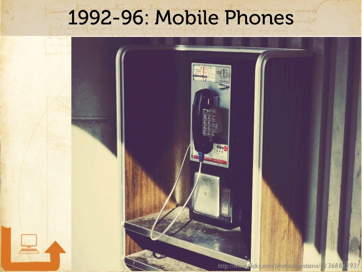 Mobile Phones: 1992-1997