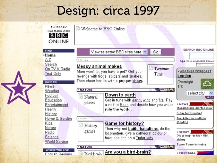 Design: circa 2000