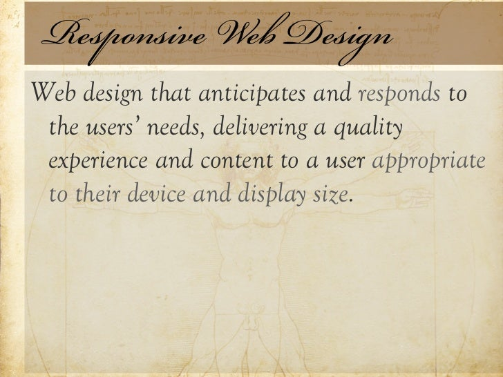 The Age of Responsive Design