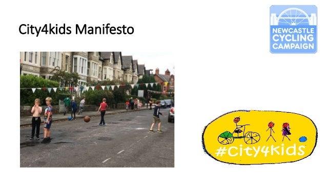 City4kids Manifesto