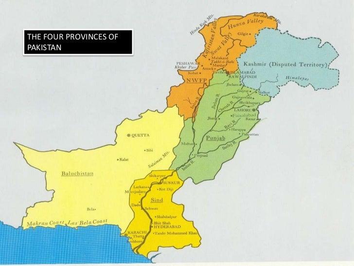 Presentation On Pakistan - Major cities of pakistan map
