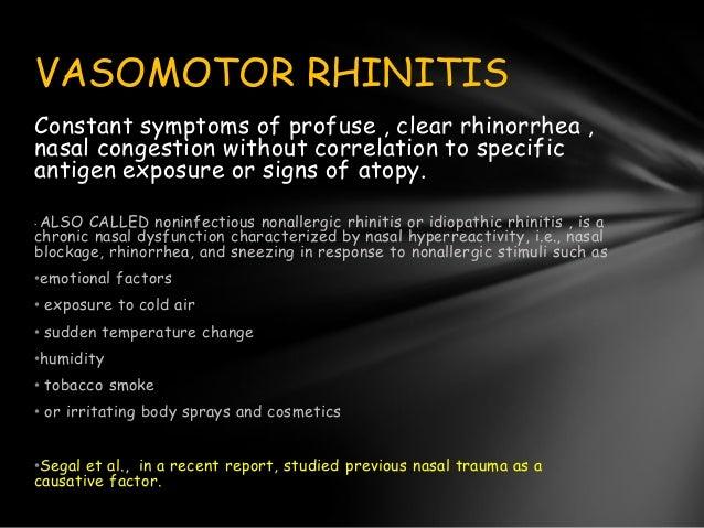 Presentation Allergic Rhinitis Madan