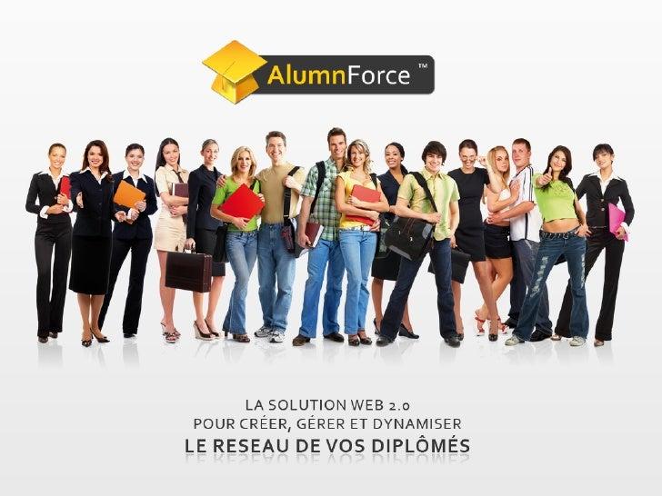 Sommaire 1. La société MEVIA 2. AlumnForce, la plate-‐forme communautaire de vos diplômés 3. ...