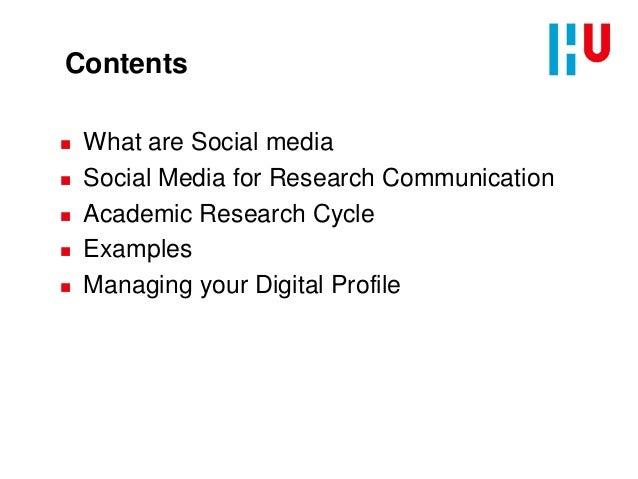 Social Media for Research Communication Slide 2