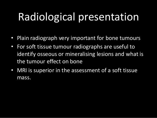 Lecture 1: Presentation and staging msk tumour Slide 2