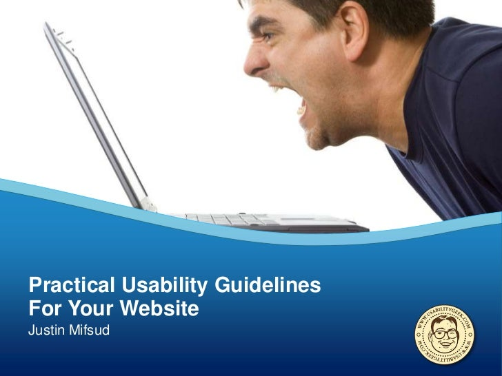 Practical Usability GuidelinesFor Your WebsiteJustin Mifsud
