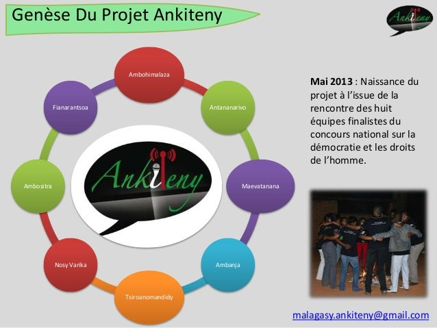 Présentation du projet Ankiteny Slide 2