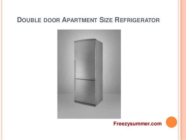 Apartment size refrigerator by Freezysummer.c