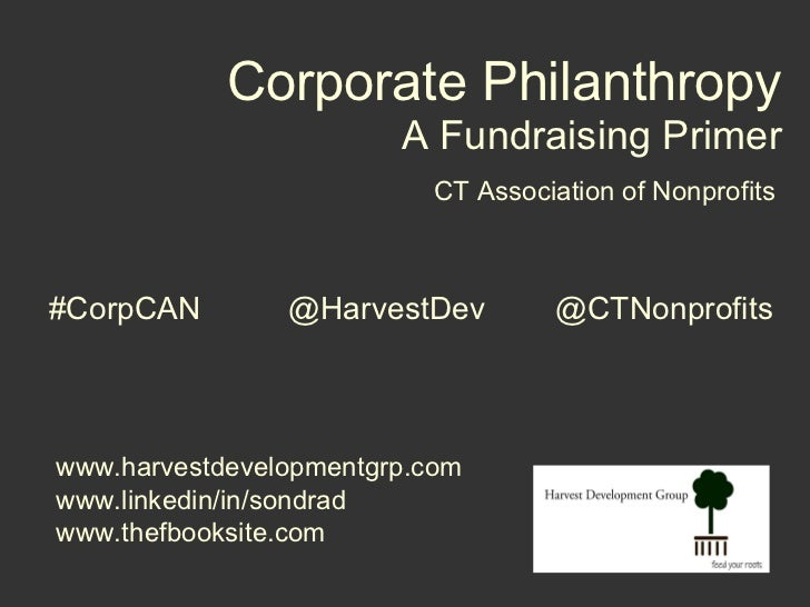SHIFT: Meeting Corporate Philanthropy Where It's Heading Slide 2