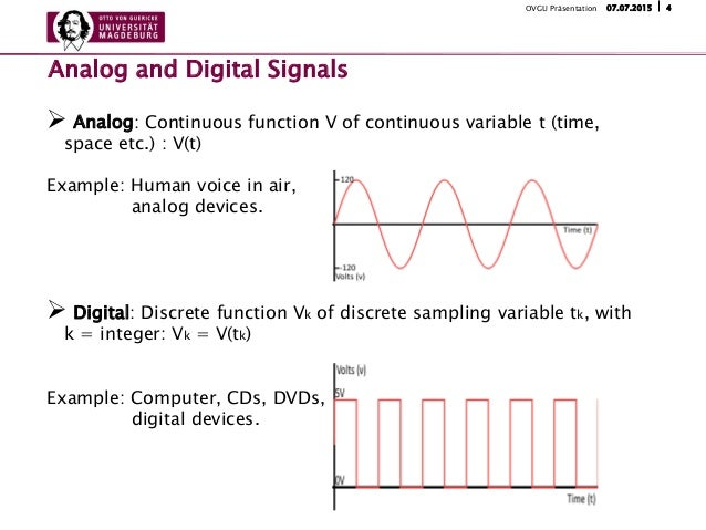 Continuous Time Analog Systems