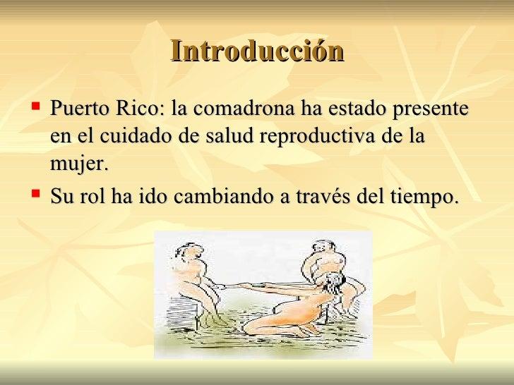 Historia de la Parteria en Puerto Rico Slide 2