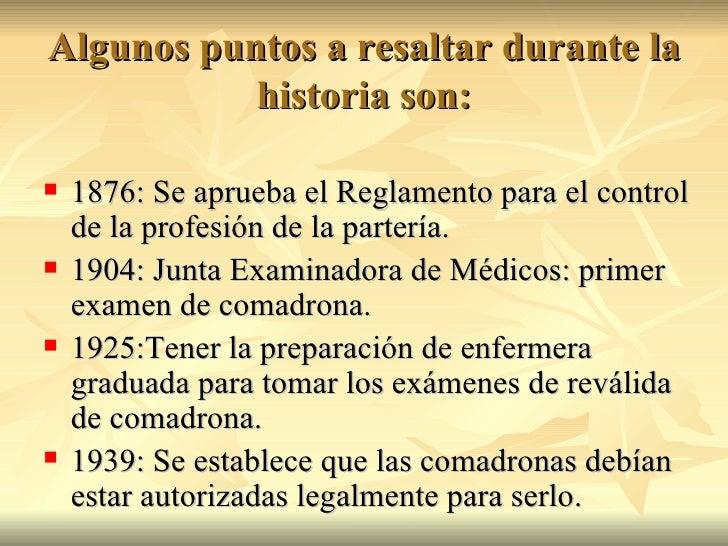 Historia de la Parteria en Puerto Rico Slide 3