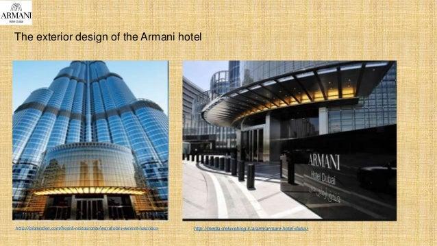 The exterior design of the Armani hotel http://planetden.com/hotels-restaurants/wardrobes-werent-luxurious http://media.de...