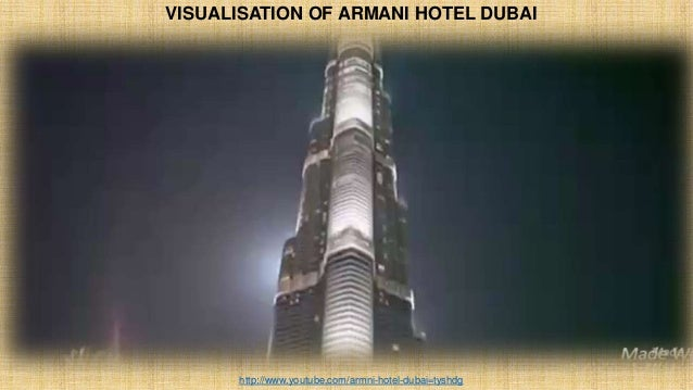 VISUALISATION OF ARMANI HOTEL DUBAI http://www.youtube.com/armni-hotel-dubai=tyshdg