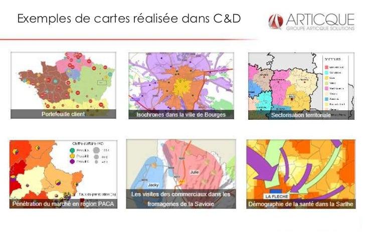 Exemples de cartes réalisée dans C&D