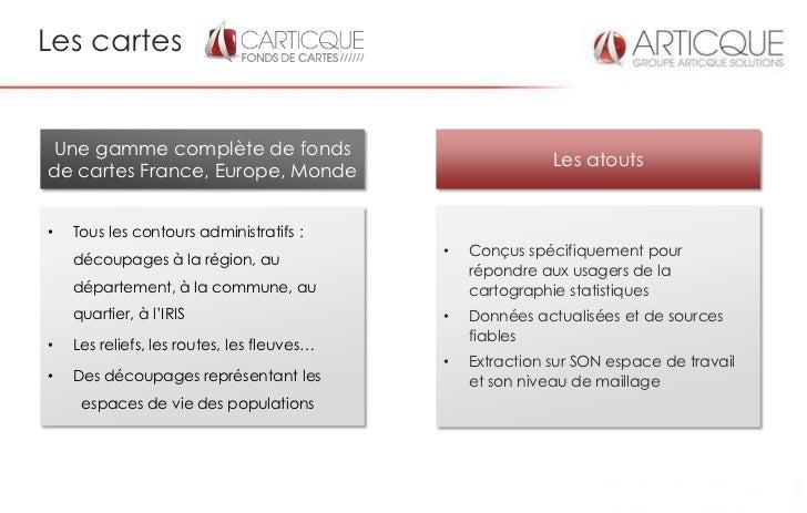 Les cartesUne gamme complète de fonds                                                           Les atoutsde cartes France...