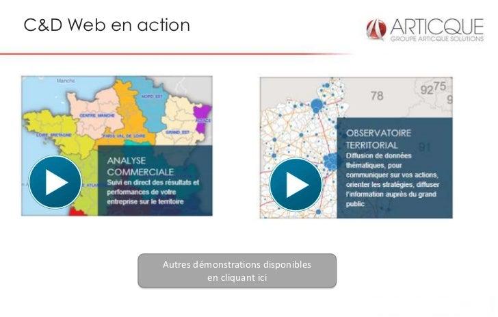 C&D Web en action              Autres démonstrations disponibles                       en cliquant ici