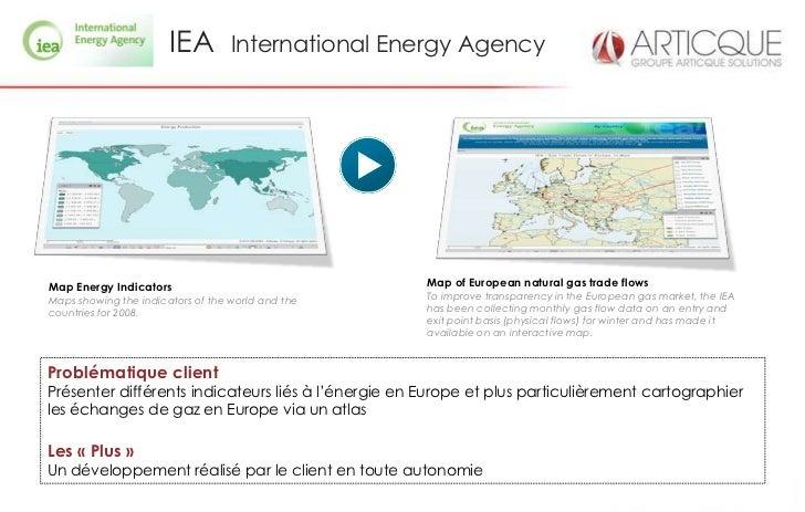 IEA         International Energy AgencyMap Energy Indicators                                Map of European natural gas tr...