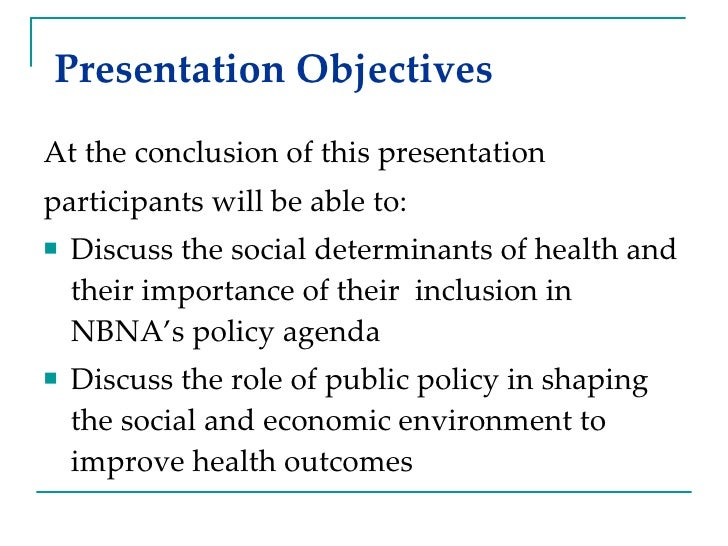Presentation Objectives <ul><li>At the conclusion of this presentation  </li></ul><ul><li>participants will be able to: </...